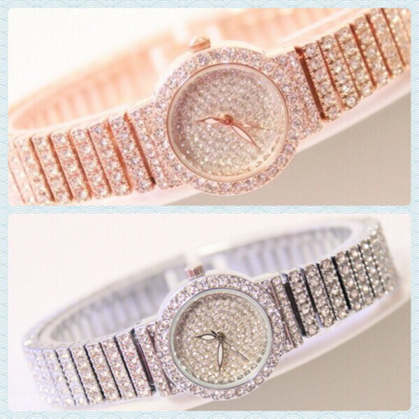 Used Bee Sister Silver/ Rose Gold Watches in Dubai, UAE