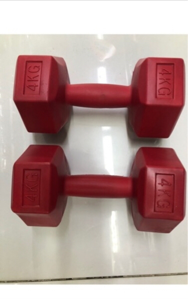 Used Dumbbells/4 kg x 2pcs/ new✨offer✨ in Dubai, UAE