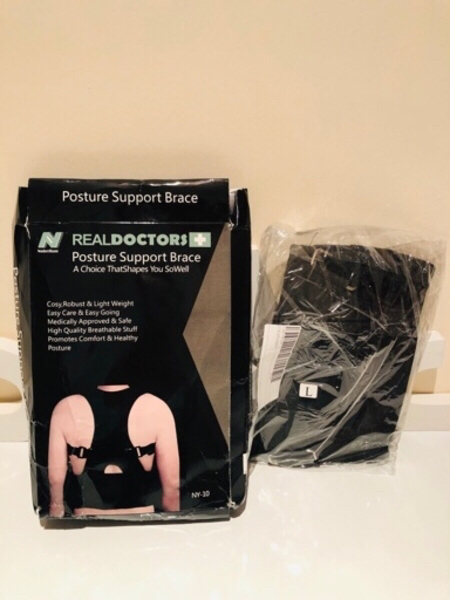 Used Real Doctors Back Posture Support L in Dubai, UAE