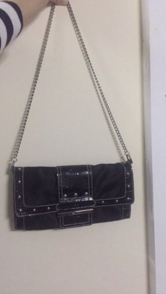 Used Guess Black Shoulder Bag in Dubai, UAE