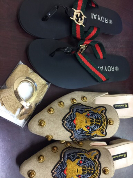 Used special offer 4 pairs of women sandals in Dubai, UAE