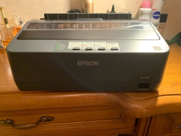 Used Epson printer for receipts, NEW in Dubai, UAE