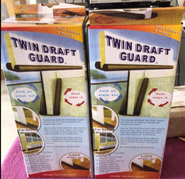 Used Twin Draft Guard x 2 pcs in Dubai, UAE