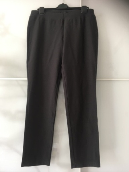 Used Eileen Fisher Grey Casual Pants in Dubai, UAE