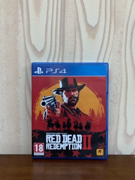 Used Red Dead Redemption 2 PS4 Game in Dubai, UAE