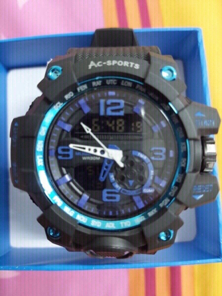 Used Brand New AC sports Watch Made in Japan in Dubai, UAE
