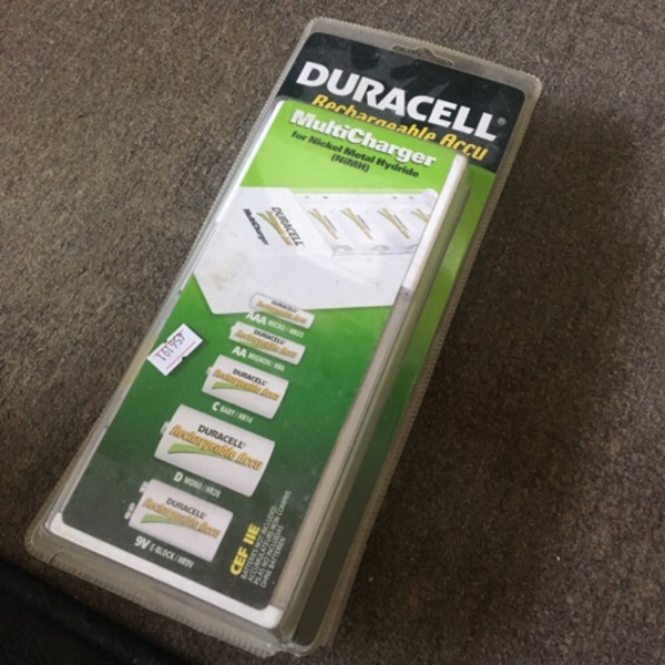 Used Duracell rechargeable battery charger in Dubai, UAE