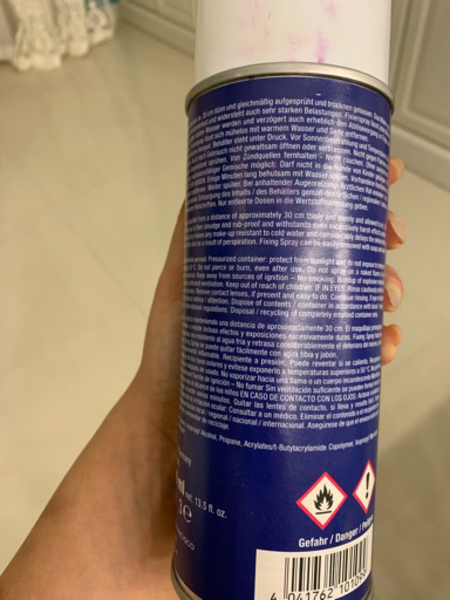 Used Lightly used setting spray from kryolan in Dubai, UAE