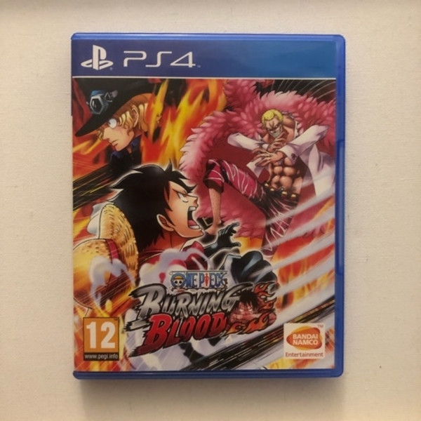 Used •One Piece Burning Blood• PS4 Video Game in Dubai, UAE