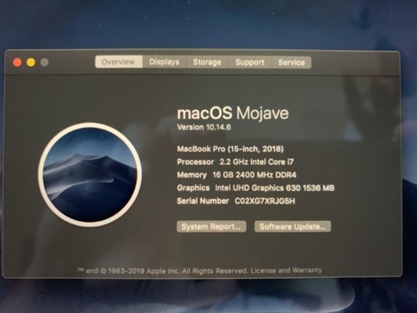 Used Macbook Pro 2018 ,touch bar &accessories in Dubai, UAE