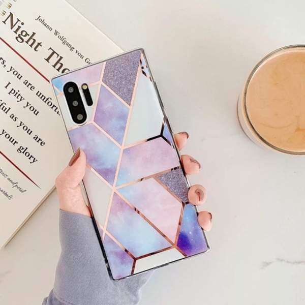 Used Purple Marble case for iPhone 11 Pro/Max in Dubai, UAE