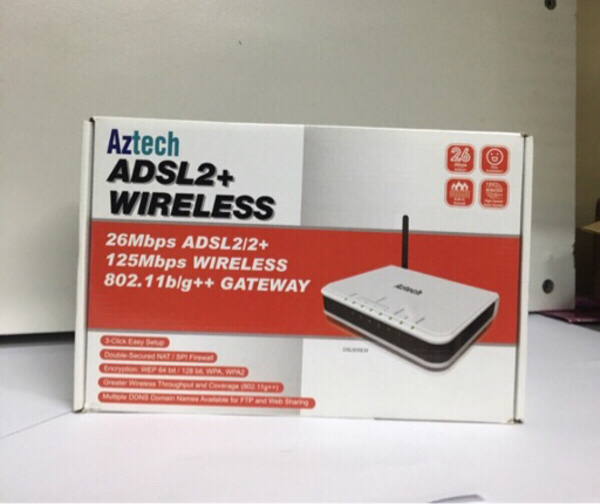 Used Aztech WAG200G Home gateway in Dubai, UAE