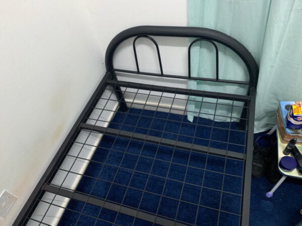 Used Bed and Mattress. Only 1 month old in Dubai, UAE