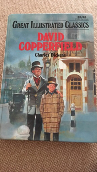 Used Book David Copperfield and candles  in Dubai, UAE