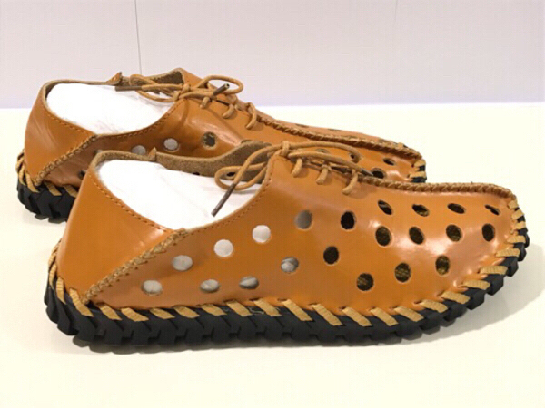 Used NEW Moccasins Shoes Size UK 40 Brown in Dubai, UAE