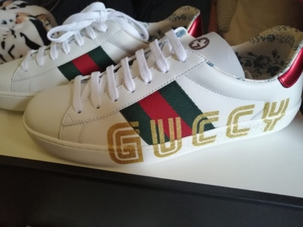 Used Authentic Gucci Sneakers in Dubai, UAE