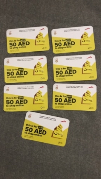 Used 7 Noon Shopping Vouchers in Dubai, UAE