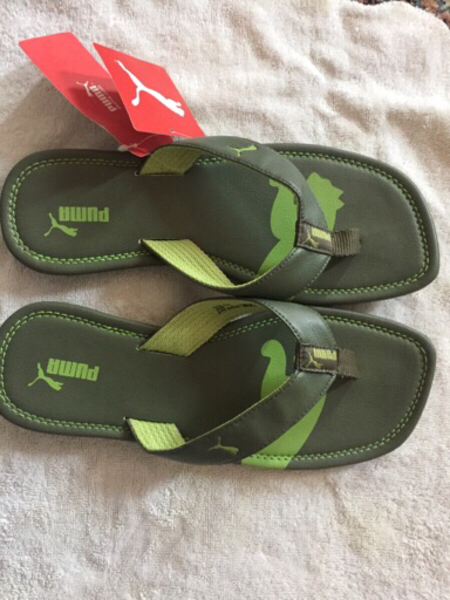 Used Puma drifter, brand new slipper 42 uk 8 in Dubai, UAE
