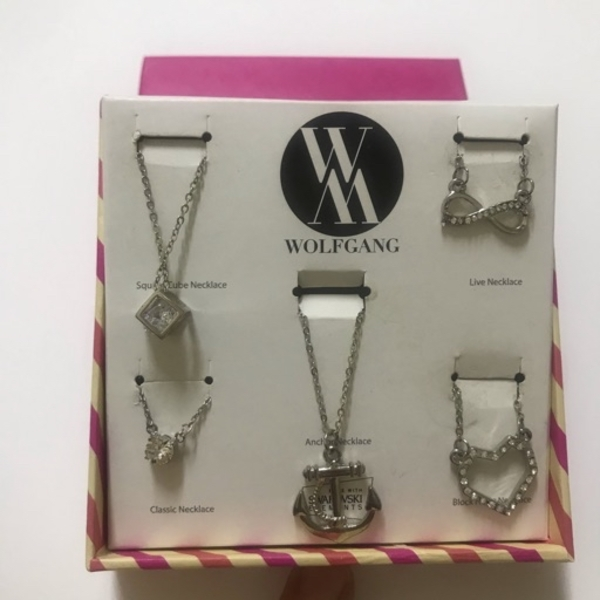 Used New Wolfgang necklaces 5pcs in Dubai, UAE