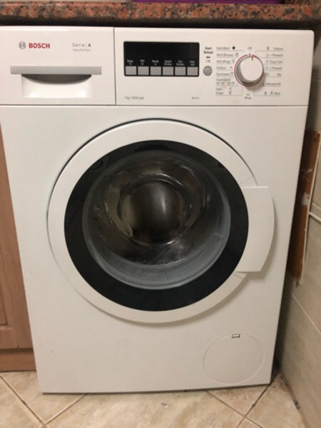 Used Bosch 7kg washing machine in Dubai, UAE