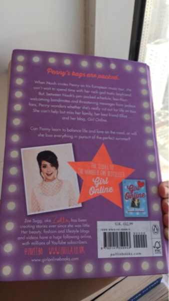 Used Girl online ON TOUR book by Zoe Sugg in Dubai, UAE