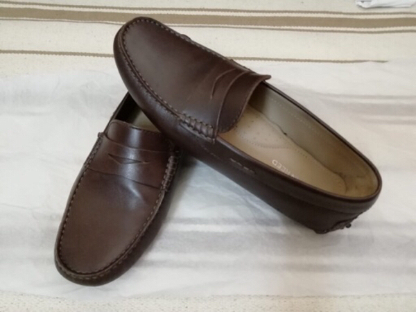 Austin Reed Dark Brown Loafers P491653 Melltoo Com