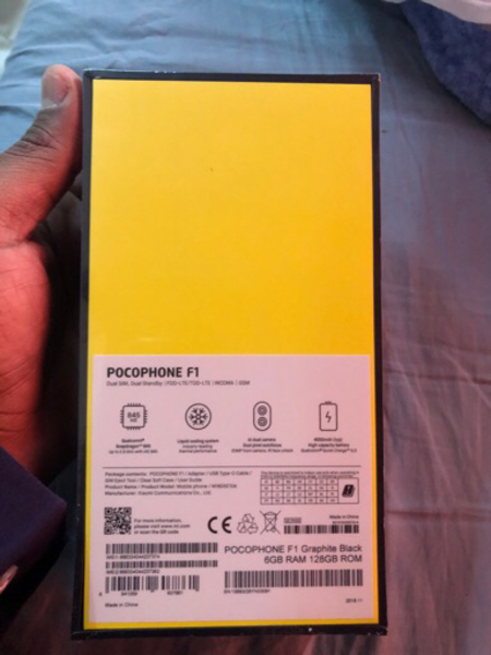 Used Pocophone F1 Dual sim in Dubai, UAE