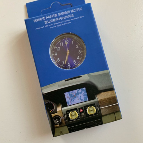 Used Car perfume clock NEW in Dubai, UAE