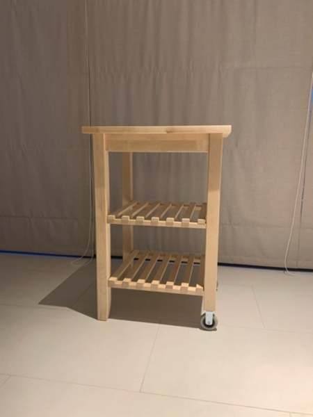 Used Mini wooden kitchen island (IKEA) in Dubai, UAE