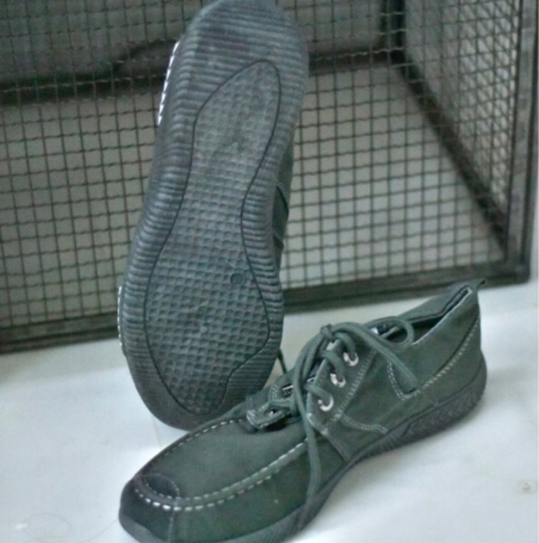 Used Denim Dark Gray Casual Shoes/40 in Dubai, UAE
