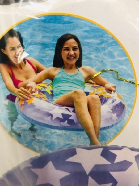 Used 2 Swim Ring 💙 in Dubai, UAE