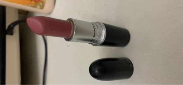 Used Mac brave lipstick used once only in Dubai, UAE