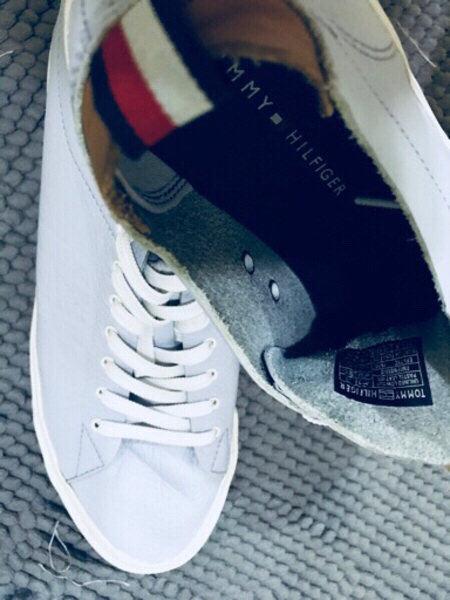Used Authentic Tommy Hilfiger leather shoes in Dubai, UAE