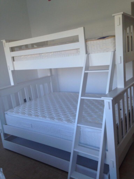 Used Pottery Barn bunk bed + trundle bed in Dubai, UAE