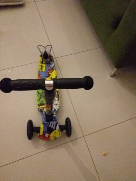 Used Foldable good quality scooter with brake in Dubai, UAE
