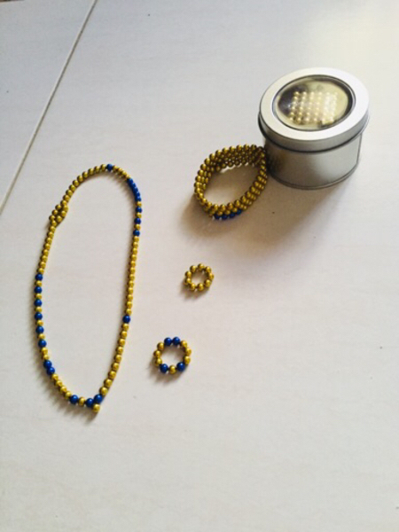 Used Bundle of 2 magnetic balls 19676/684 in Dubai, UAE