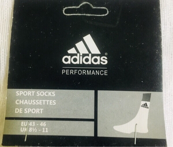 Used Sport Socks (Adidas) 6Pairs in Dubai, UAE