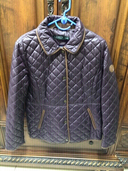 Used Jacket RALPH LAUREN preloved Dark purple in Dubai, UAE