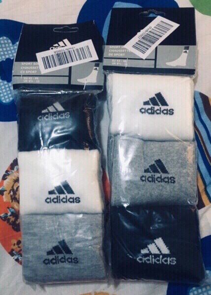 Used Adidas 6Pairs socks 🧦 in Dubai, UAE