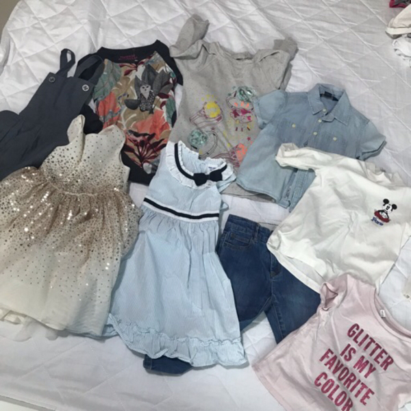 Used Branded Girls Clothes 2-3yrs in Dubai, UAE