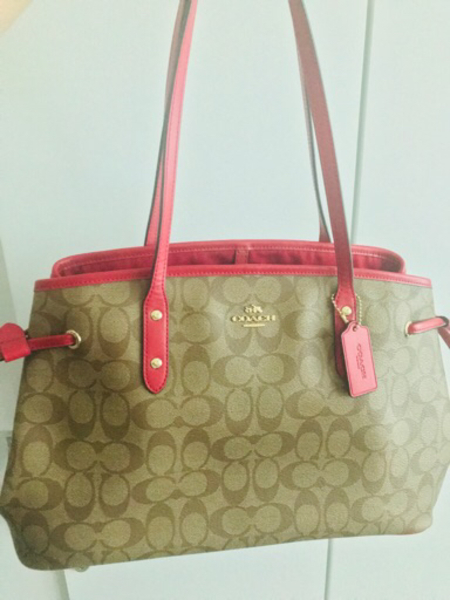 Used Coach F57842 Drawstring Carry All Bag in Dubai, UAE
