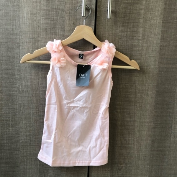 Used Top for girls - peach size 100 in Dubai, UAE