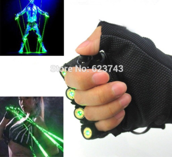 Used Laser Gloves with Green Light XL in Dubai, UAE