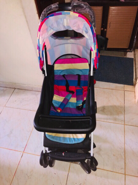 Used Baby stroller.travel easy with baby. in Dubai, UAE