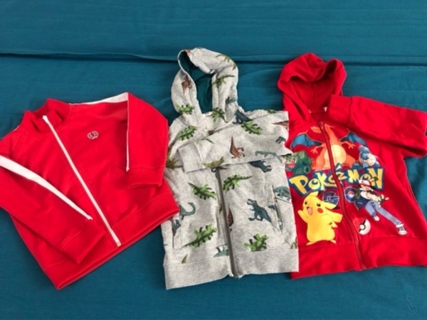 Used Boys Jackets- Fred Perry, Dino and Pokem in Dubai, UAE
