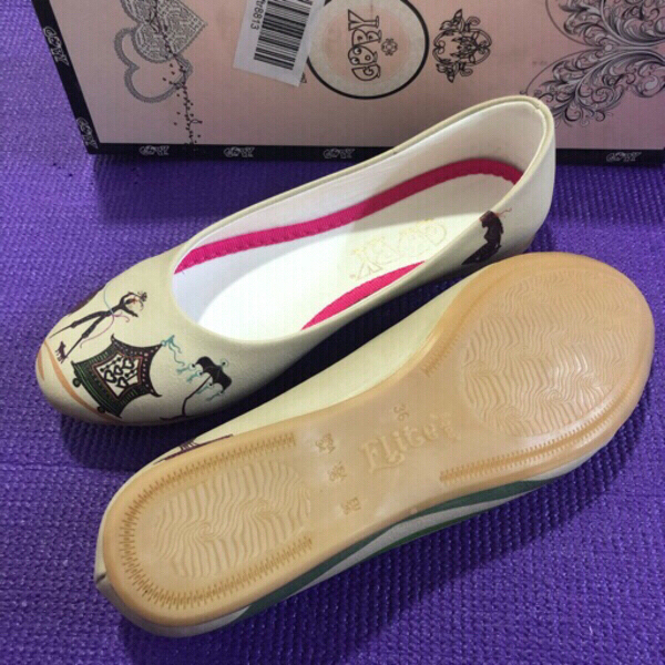 Used Goby Flat Leatherette Shoes/36 in Dubai, UAE