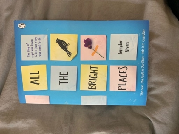 Used All the bright places book in Dubai, UAE