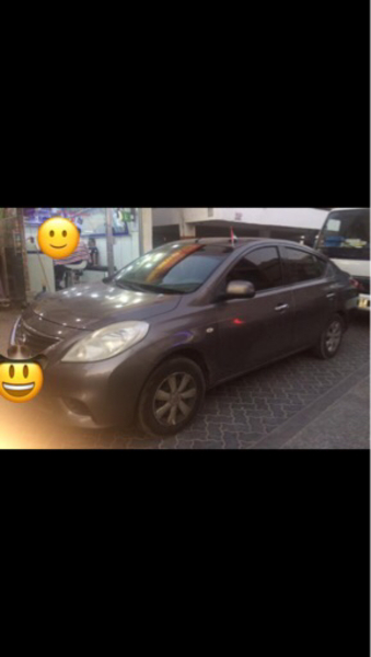 Used Nissan Sunny 2014 model for urgent sale in Dubai, UAE