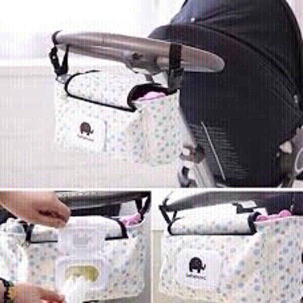 Used NEW 2pcs.Organizers(Pram/Car/Wheelchair) in Dubai, UAE