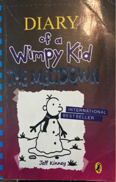 Used Wimpy kid the meltdown and hard luck in Dubai, UAE